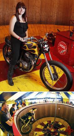 جوان ترین موتورسوار