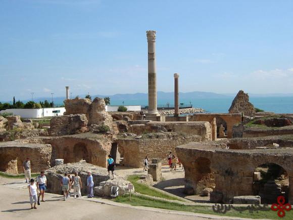 Karthago_Antoninus-Pius-Thermen