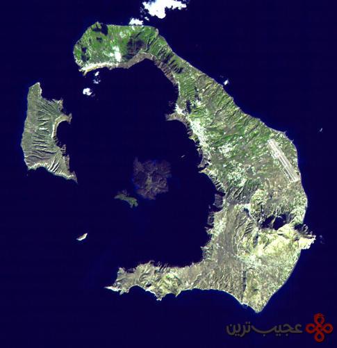Santorini_Landsat