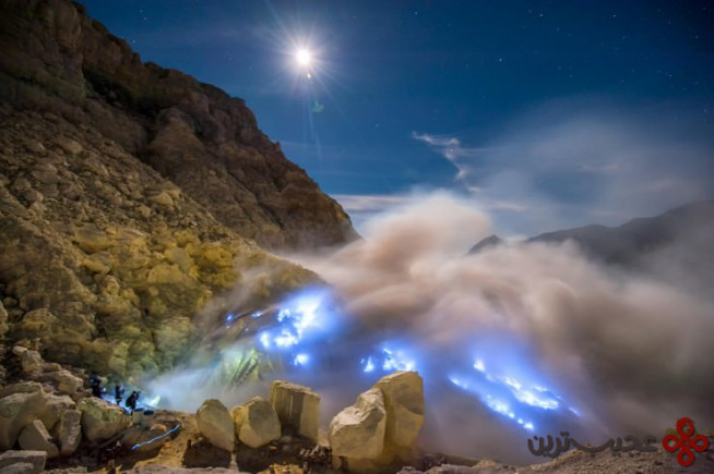 آتشفشان کاواه ایژن 3