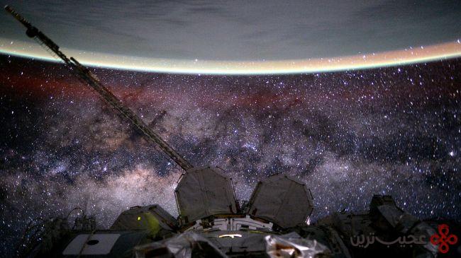 تماشای ستارگان از فضا