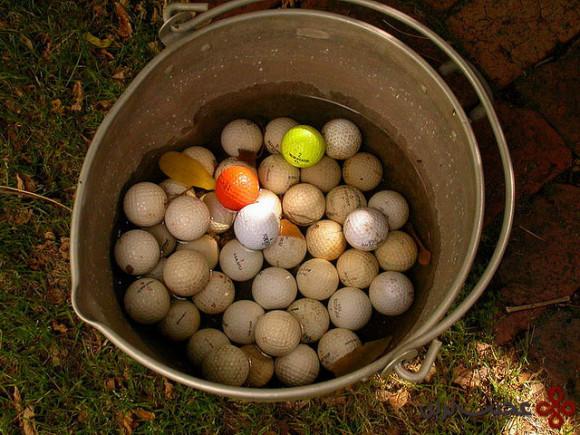 توپ گلف جمع کن