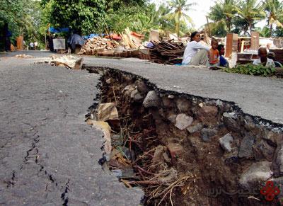 درون یک زلزله