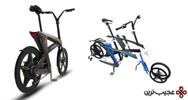 دوچرخه الکتریکی طراحی ایرانی