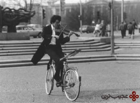 دوچرخه سواری عقب ویالون
