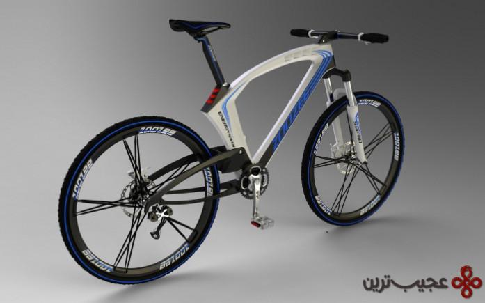 دوچرخه شارژ باد