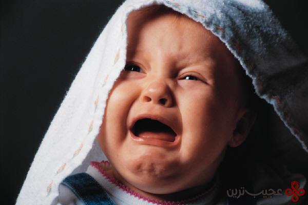 صدای گریه بچه