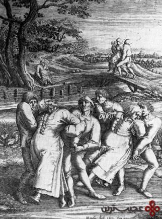 طاعون رقص 1518