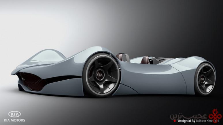 طراحی خودرو کیا