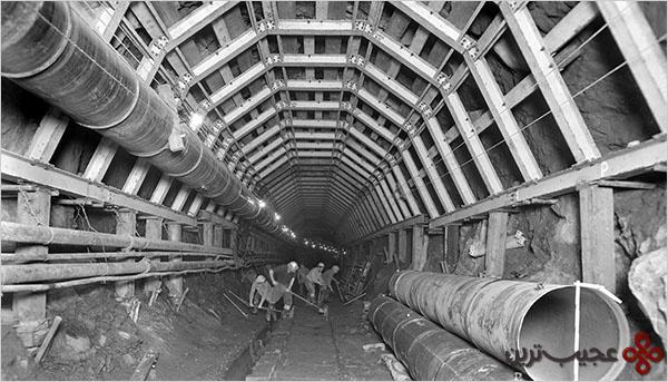 طولانیترین تونل دنیا