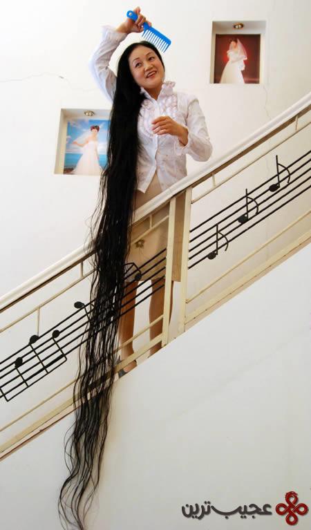 طولانی ترین مو