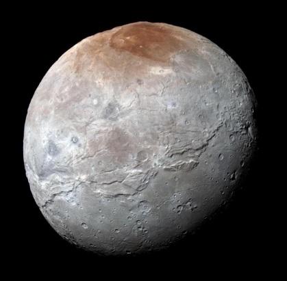 عکس کاور بزرگ ترین قمر پلوتو