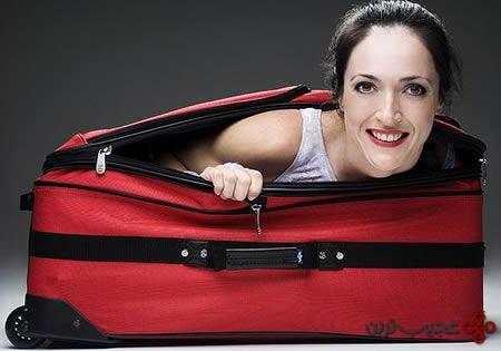 فرار از چمدان سریعترین زمان