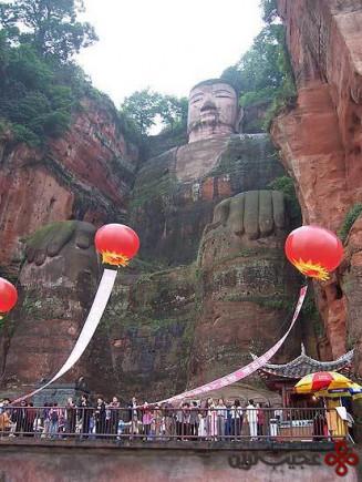 مجسمه بودای بزرگ لشان