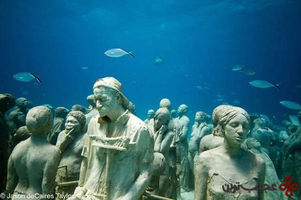 موزه ی زیر آبی کانکون (2)