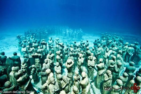 موزه ی زیر آبی کانکون (3)