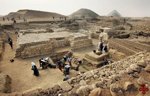 کشف هرم جدید مصر