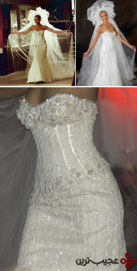 گرانقیمتترین لباس عروس