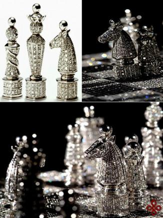 diamond chess sets