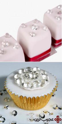 edible sugar diamonds