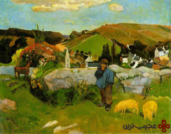 Gauguin swineherd
