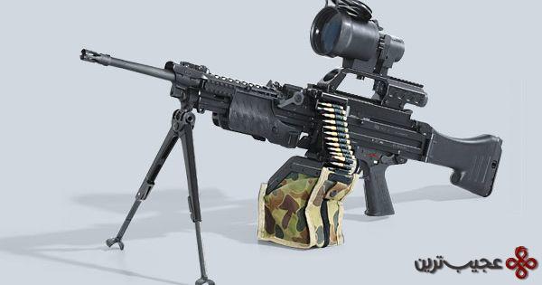 heckler and koch hk mg4 mg 43 machine gun