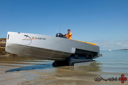 iguana 29 amphibious yacht