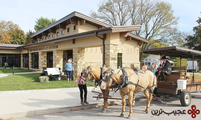 john wayne birthplace museum, winterset, iowa