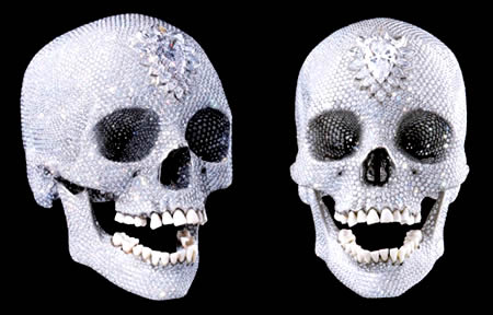 cover diamond skull