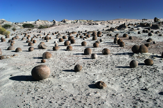 field of bowls