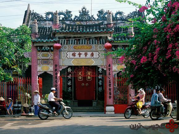 hoi an vietnam temple