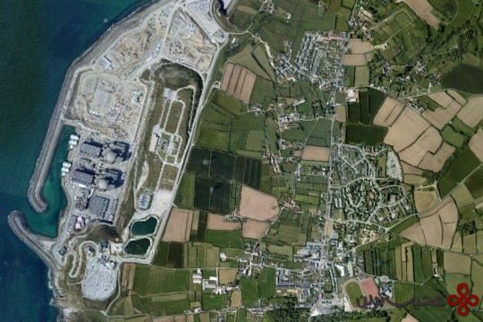 la centrale nucleaire de flamanville