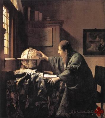 vermeer-astronomer