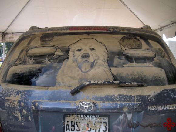 نقاشی ماشین کثیف (2)