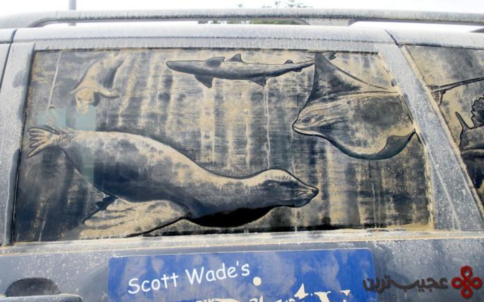 نقاشی ماشین کثیف (3)