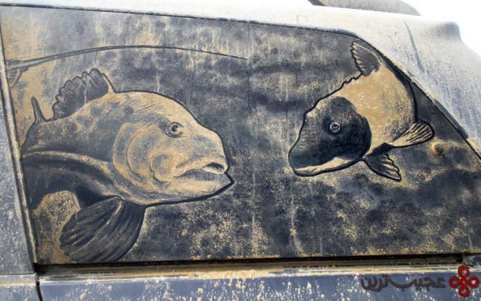 نقاشی ماشین کثیف (4)