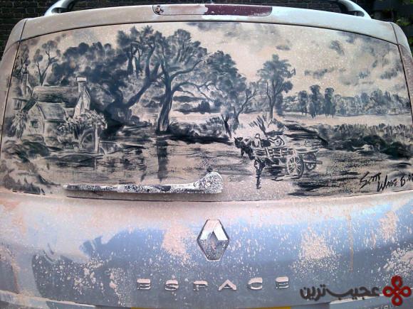 نقاشی ماشین کثیف (5)