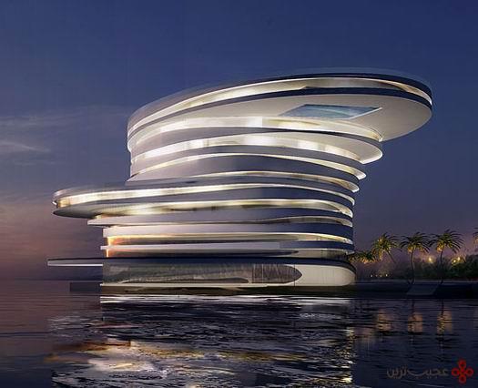 ۱۰ تا از پیشرفتهترین هتل های جهان!