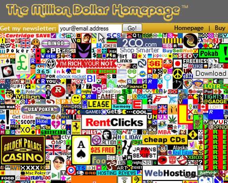 million-dollar-webpage