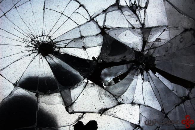 شکستن آینه