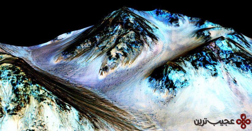 وجود آب مریخ