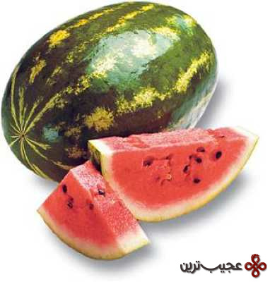 watermelon whole and slices