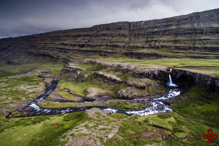 آبدرهی بروفوردور (berufjörður)، ایسلند2