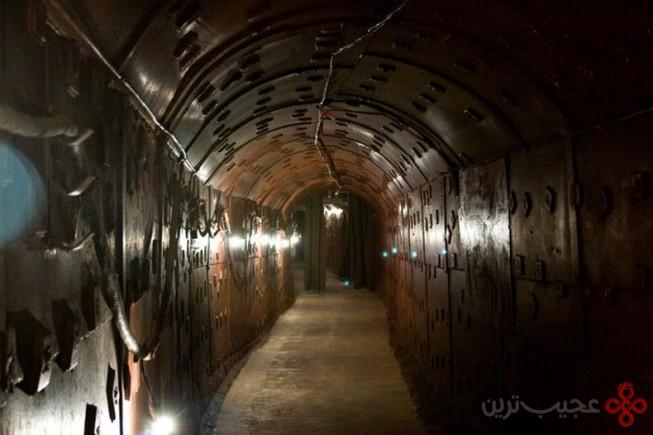 تونلهای زیرزمینی و متروی خط ۲