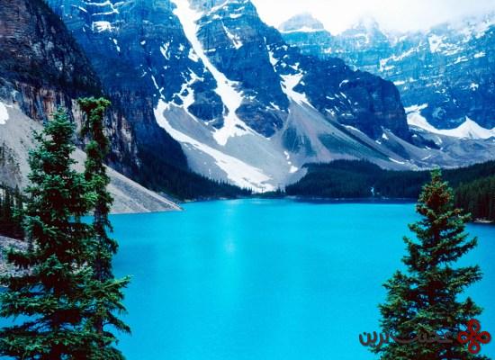 دریاچهٔ moraine، کانادا