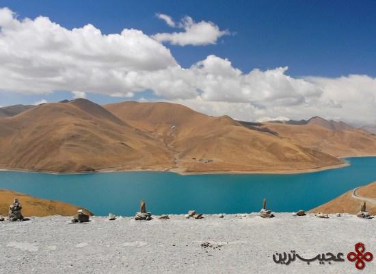 دریاچهٔ yamdrok، تبت