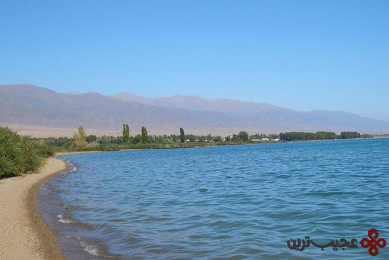 دریاچه ایسیک کول (issyk kul lake)