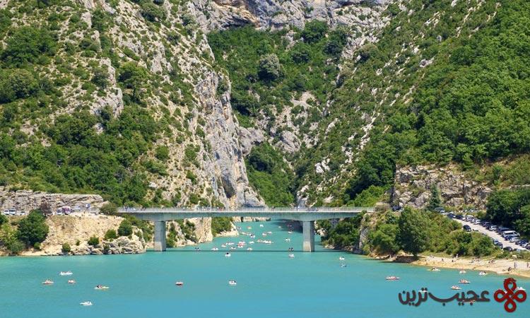 رودخانهی وردن (verdon)، آلپ دو اوت پرووانس، فرانسه۱