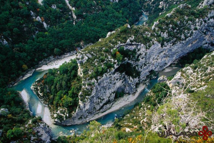 رودخانهی وردن (verdon)، آلپ دو اوت پرووانس، فرانسه۲
