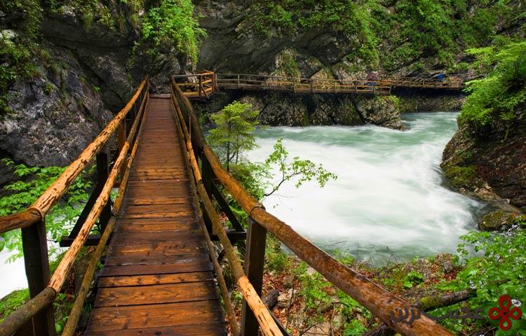 رودخانه رادونا (radovna)، بلد جرج، اسلوونی۲